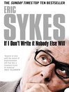 If I Don&#39;t Write It Nobody Else Will (eBook)